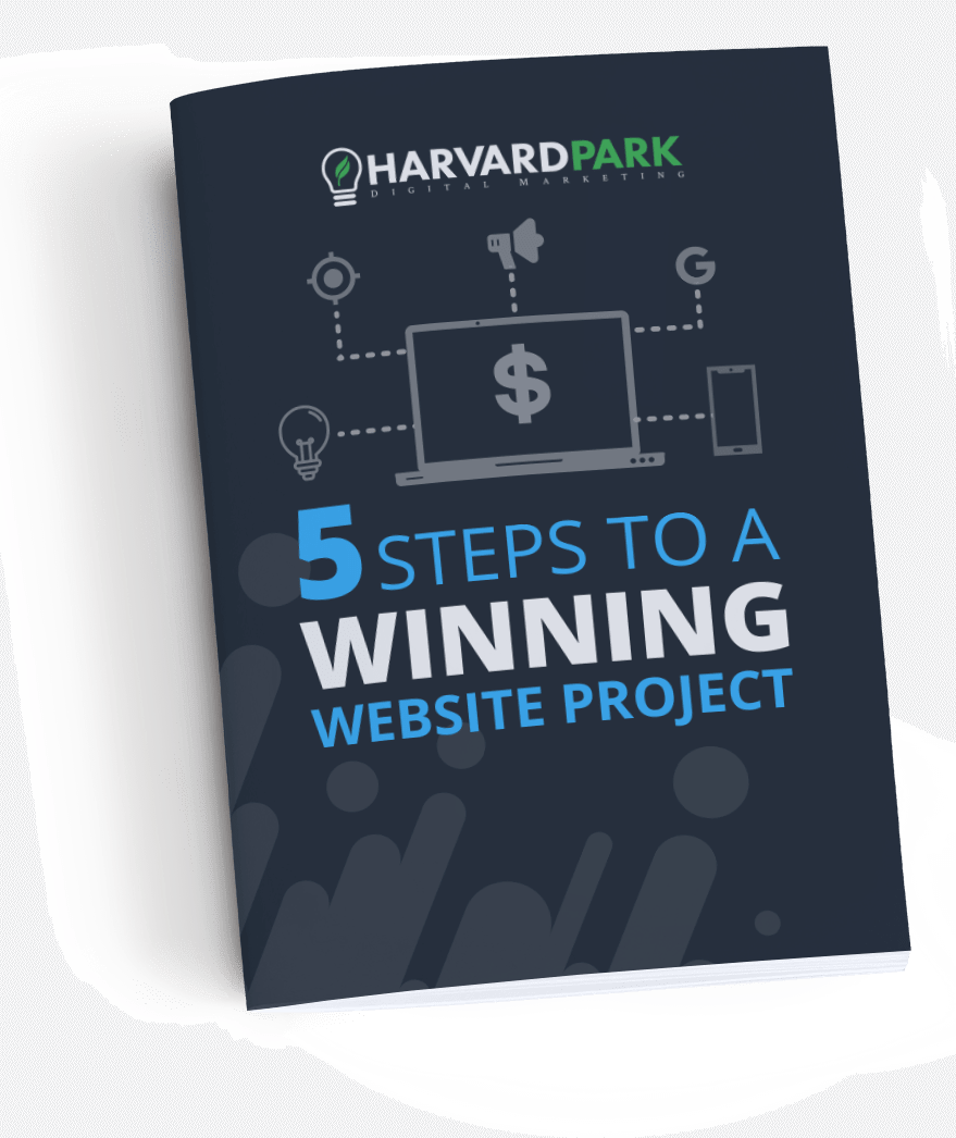 5 Steps to a Winning Website Project Downloadable Guide - Emailed to you Free!